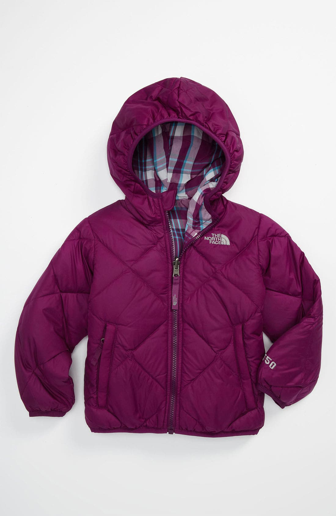 Main Image - The North Face 'Moondoggy' Reversible Down Jacket (Toddler)