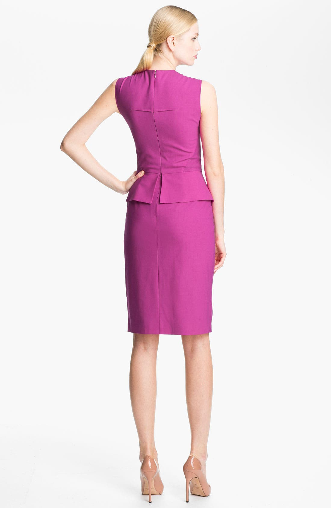Alternate Image 2  - Rachel Roy Stretch Wool Sheath Dress