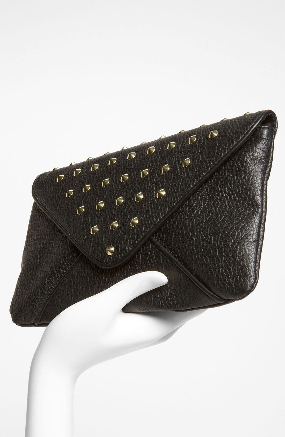 Alternate Image 2  - Lulu Studded Envelope Clutch