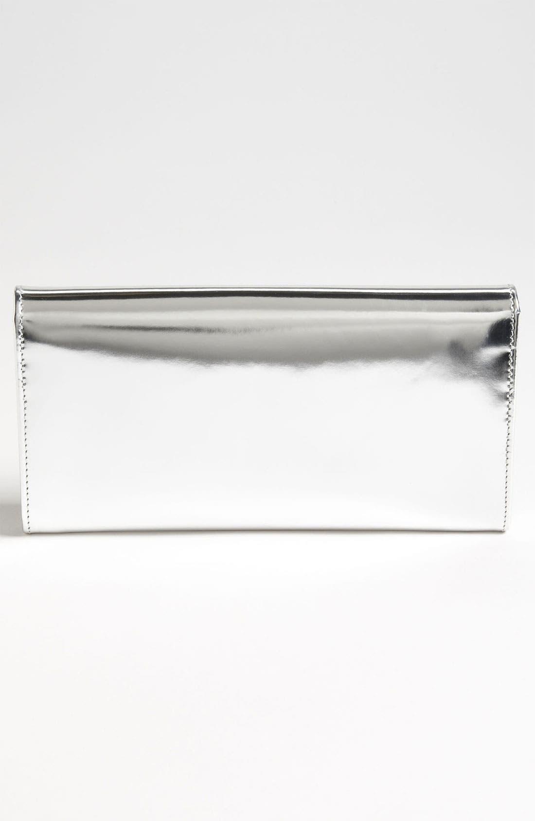 Alternate Image 4  - Jimmy Choo 'Reese' Metallic Leather Clutch