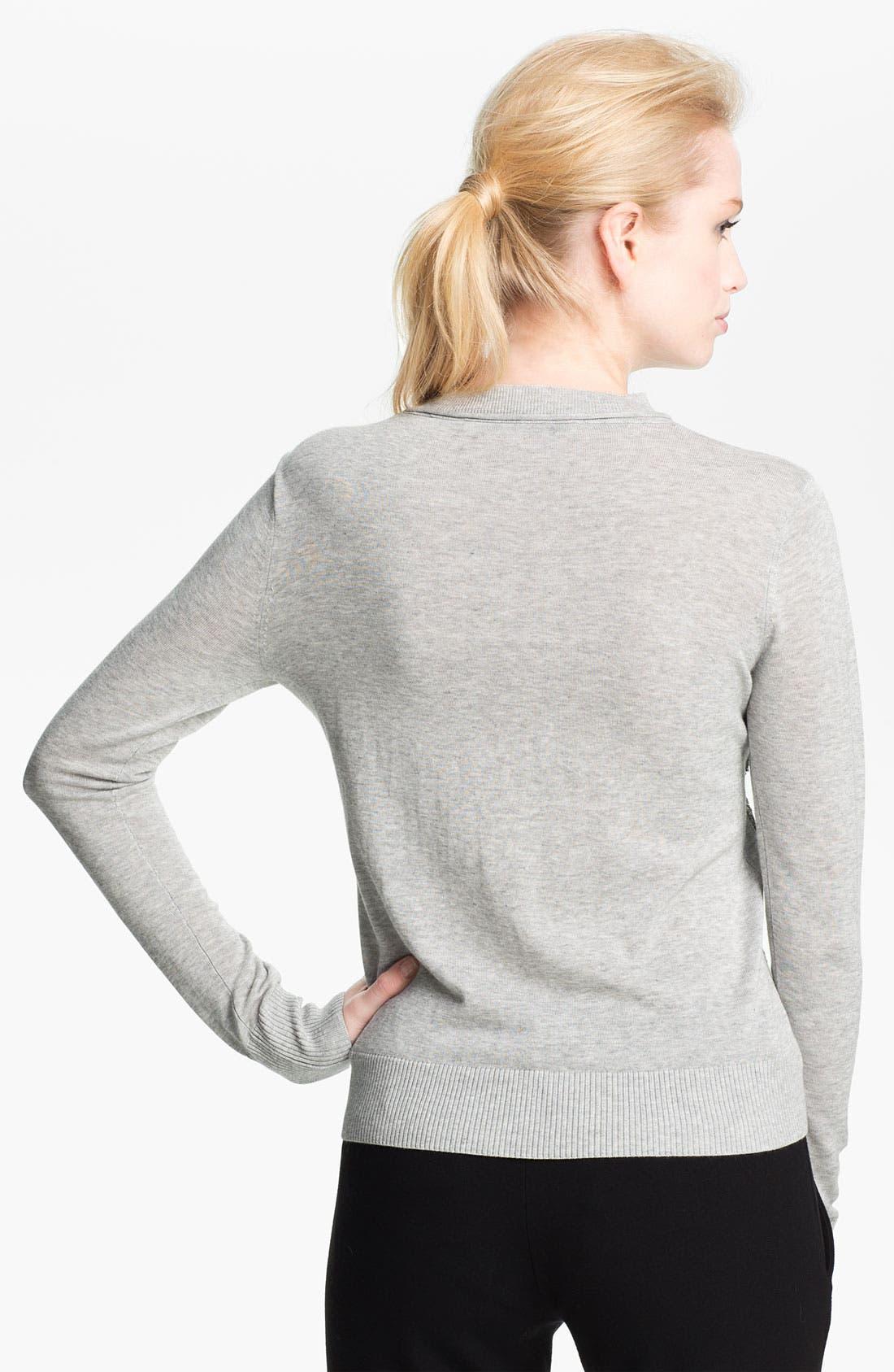 Alternate Image 2  - Diane von Furstenberg 'Paryse' Sequin Silk Sweater