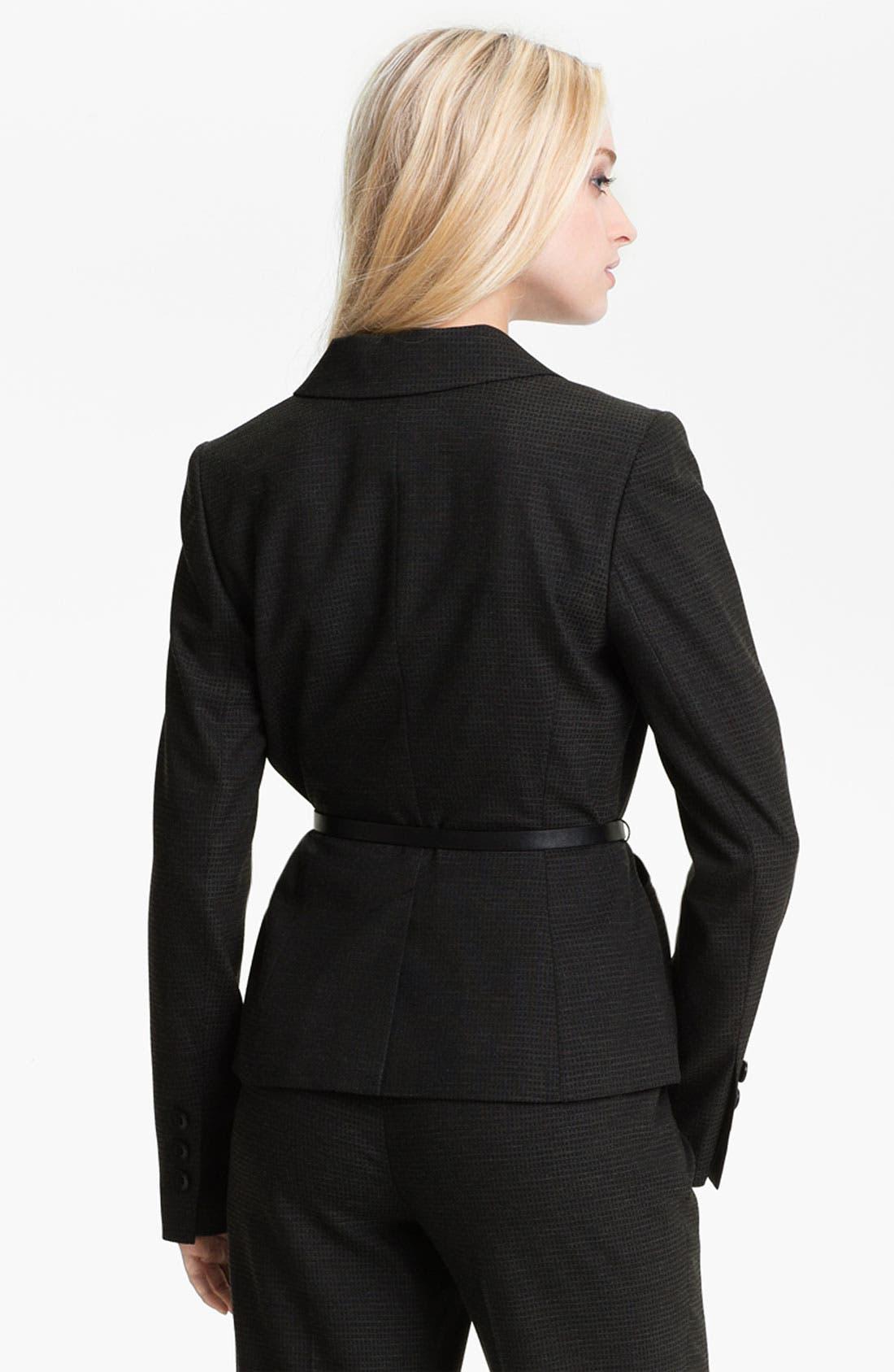 Alternate Image 2  - Classiques Entier® 'Glam Grid' Jacket