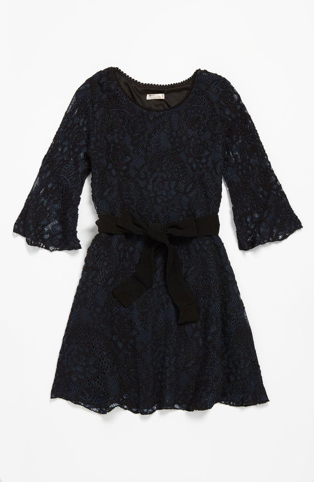 Alternate Image 1 Selected - Sally Miller Crochet Dress (Big Girls)