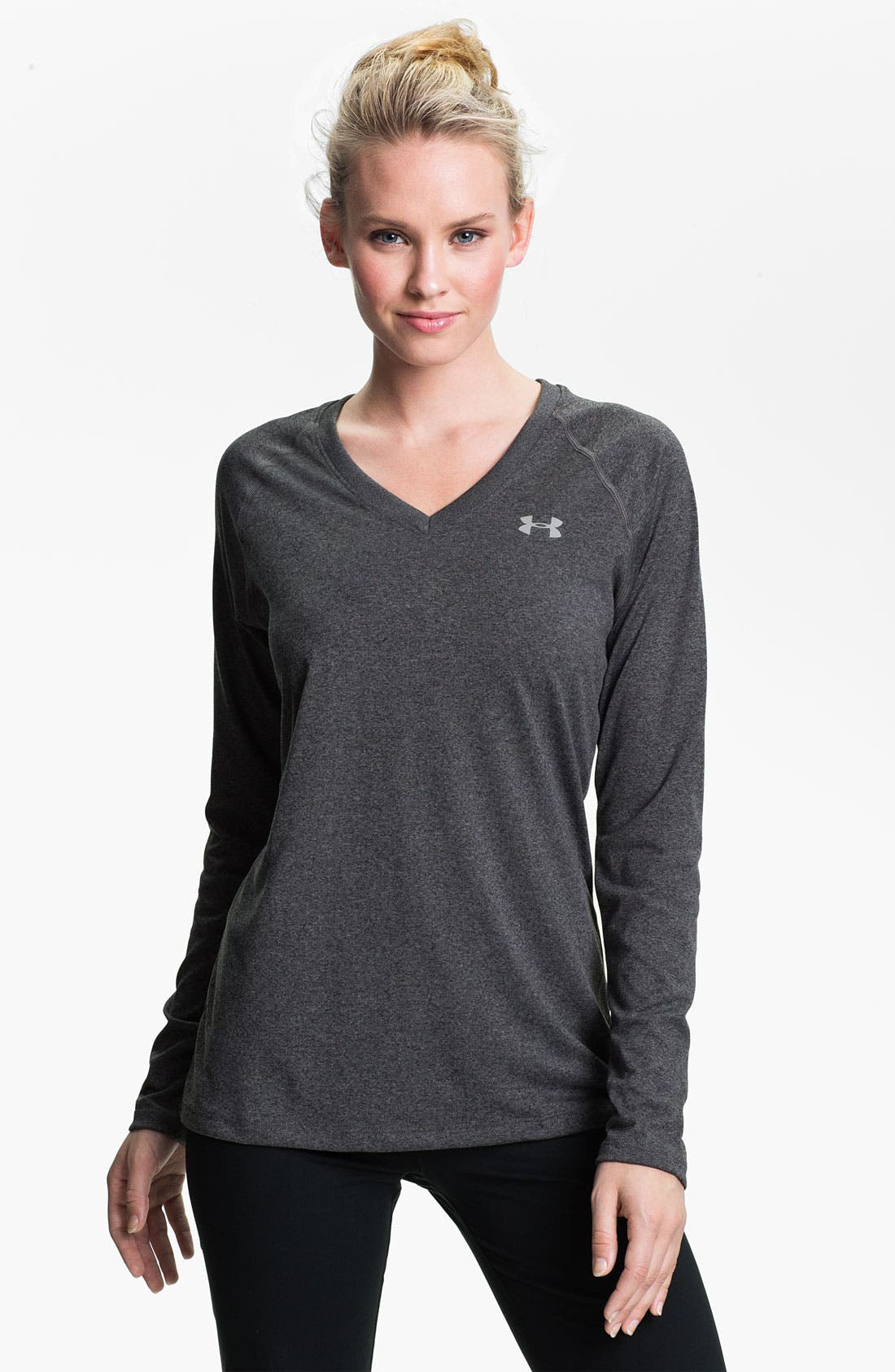 Alternate Image 1 Selected - Under Armour 'Tech' Long Sleeve Tee