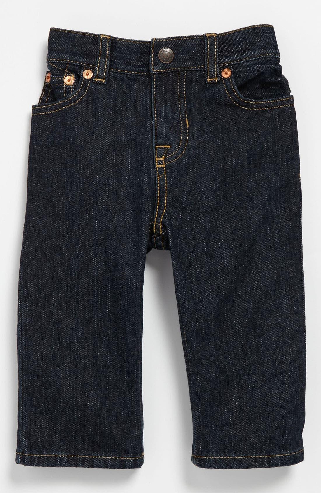 Alternate Image 2  - Ralph Lauren Skinny Leg Jeans (Infant)
