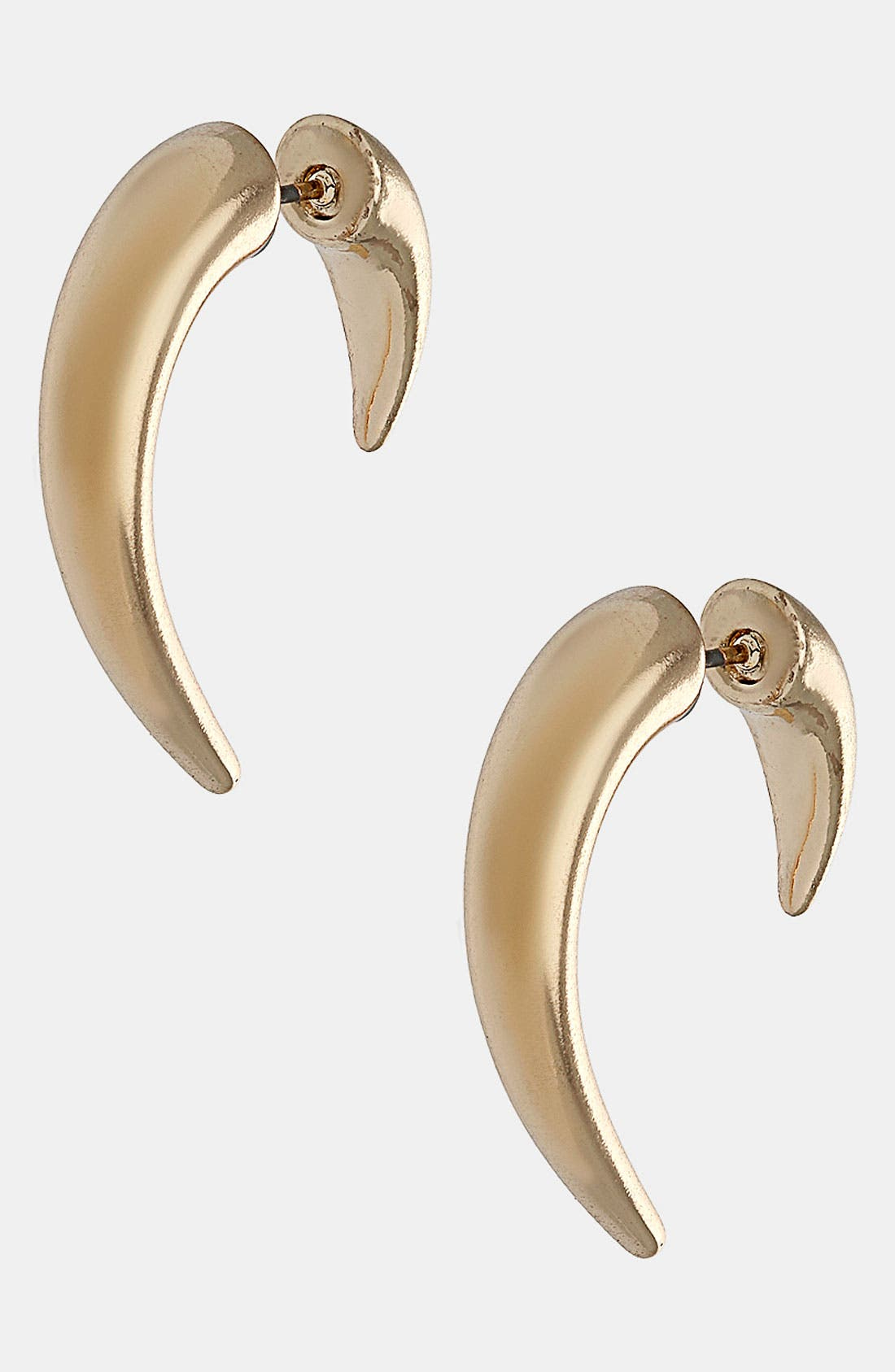 Main Image - Topshop 'Ear Tunnel' Illusion Earrings