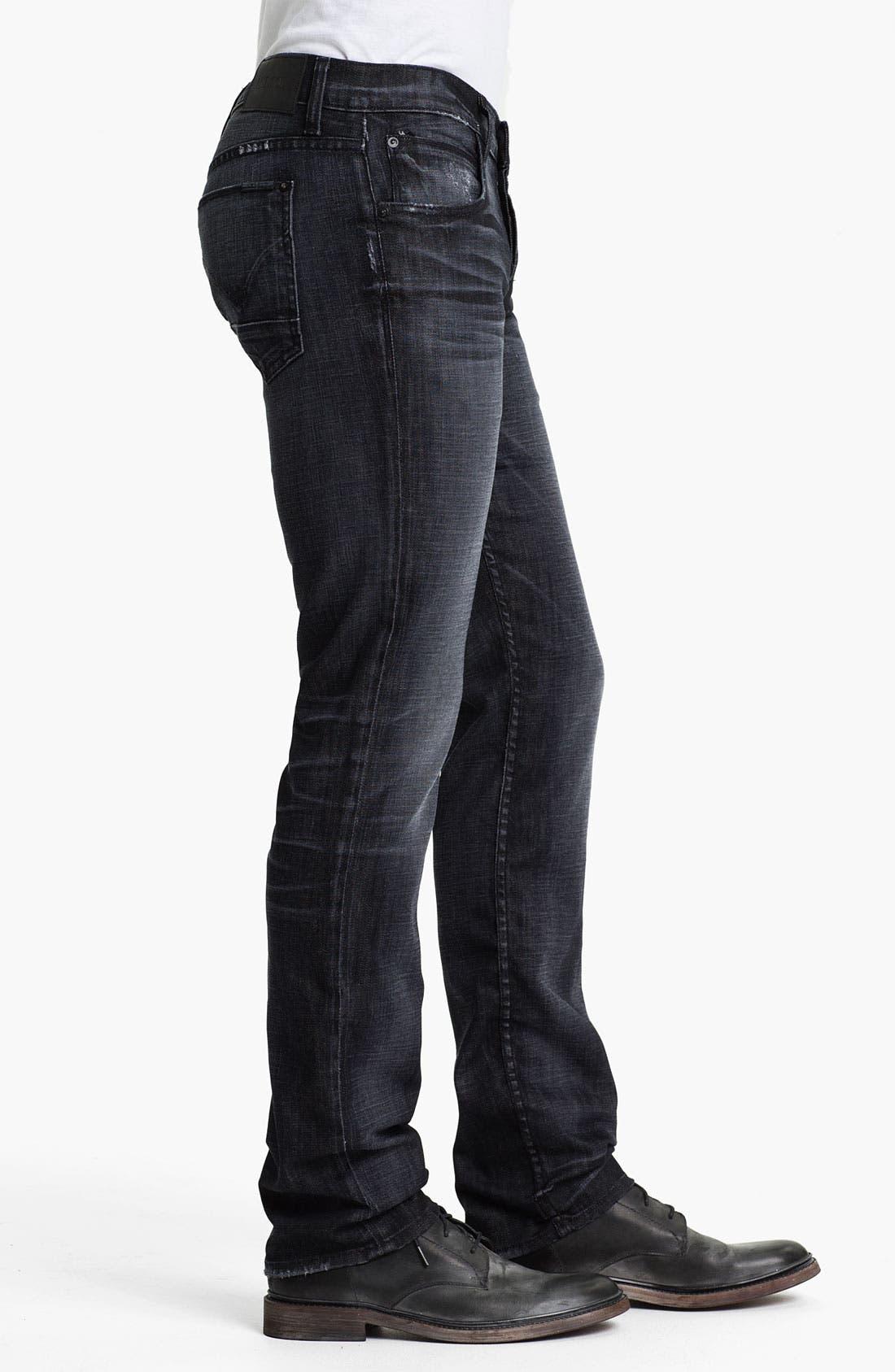 Alternate Image 3  - Hudson Jeans 'Byron' Straight Leg Jeans (Mogul)