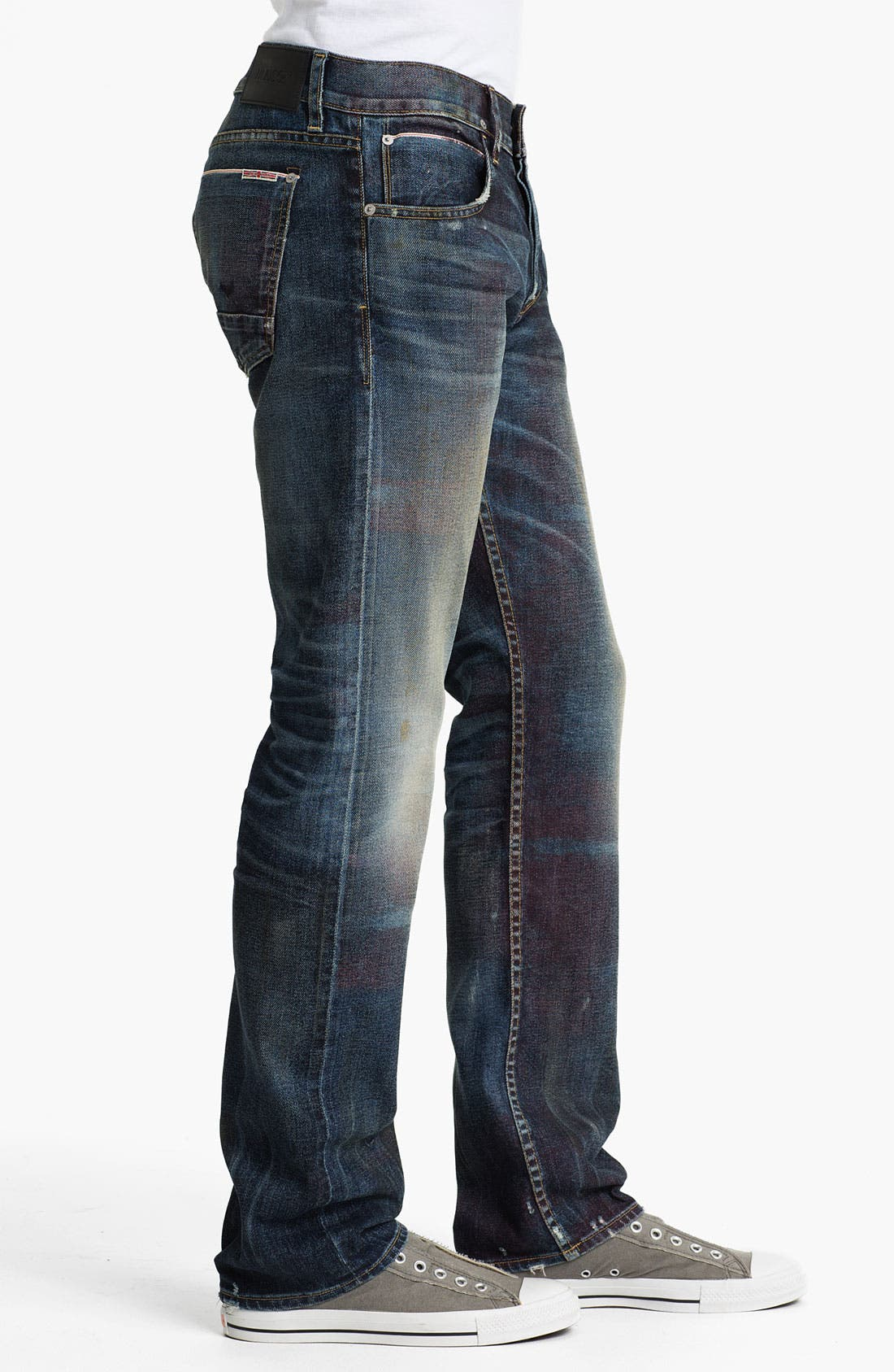 Alternate Image 3  - Hudson 'Byron - 10th Anniversary Limited Edition' Selvedge Straight Leg Jeans (Royalty) (Nordstrom Exclusive)