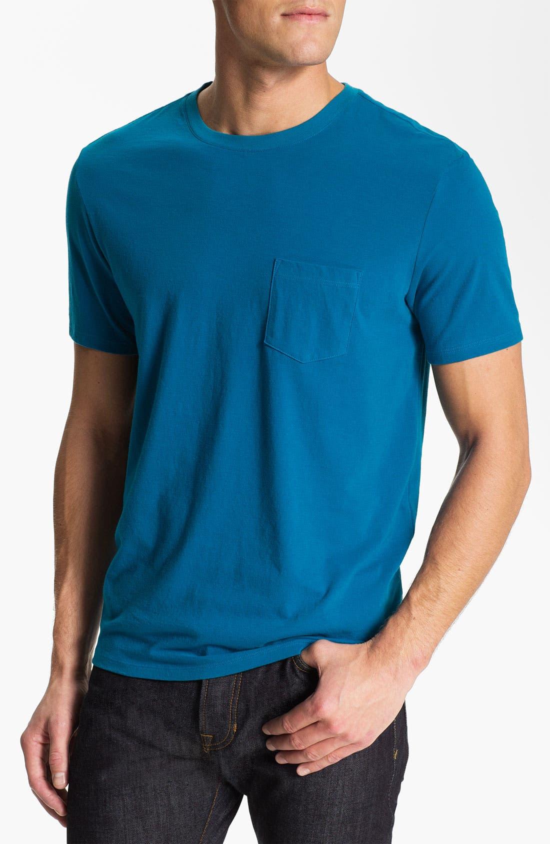 Alternate Image 1 Selected - Vince Pocket Crewneck T-Shirt
