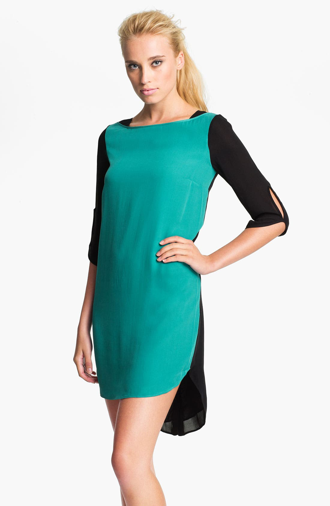 Main Image - Rebecca Minkoff 'Wednesday' Colorblock Dress