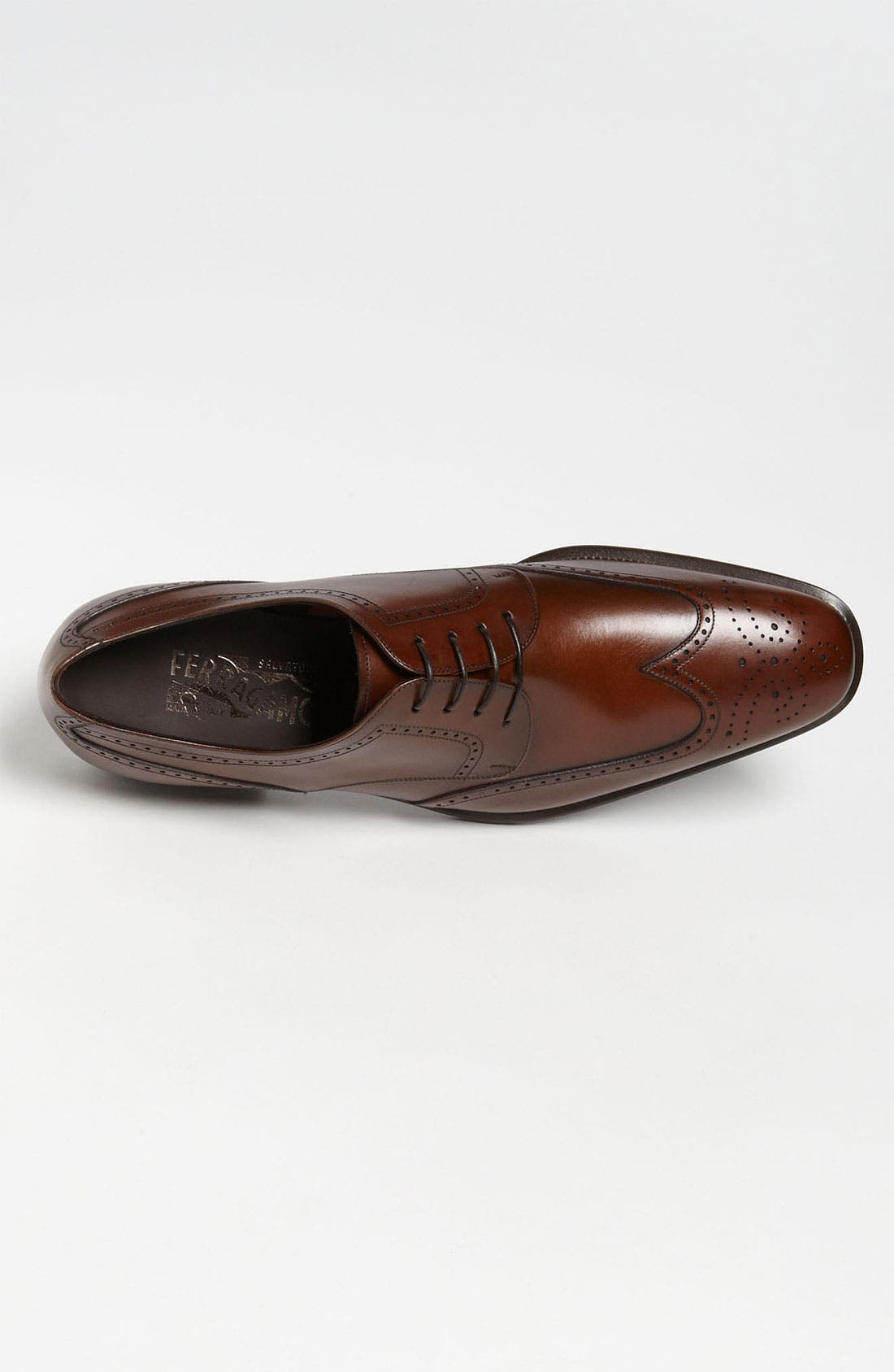 Alternate Image 3  - Salvatore Ferragamo 'Taylor' Wingtip