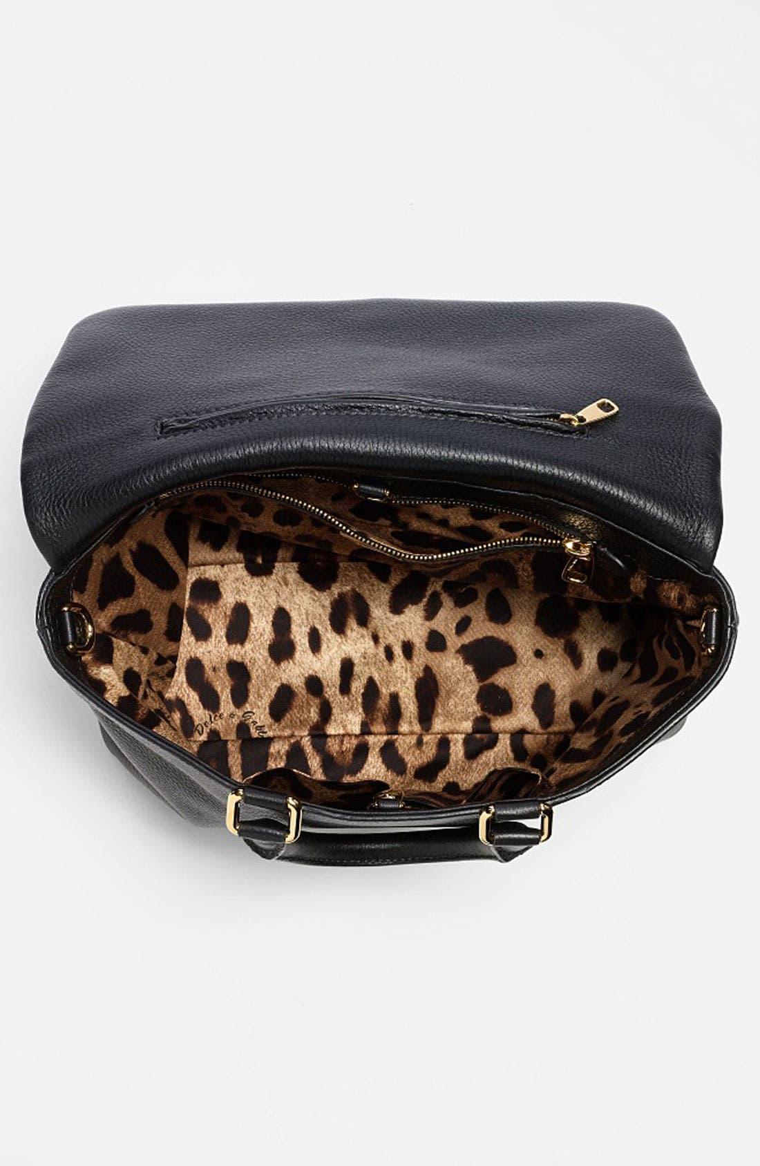 Alternate Image 3  - Dolce&Gabbana 'Miss Emma' Leather Satchel