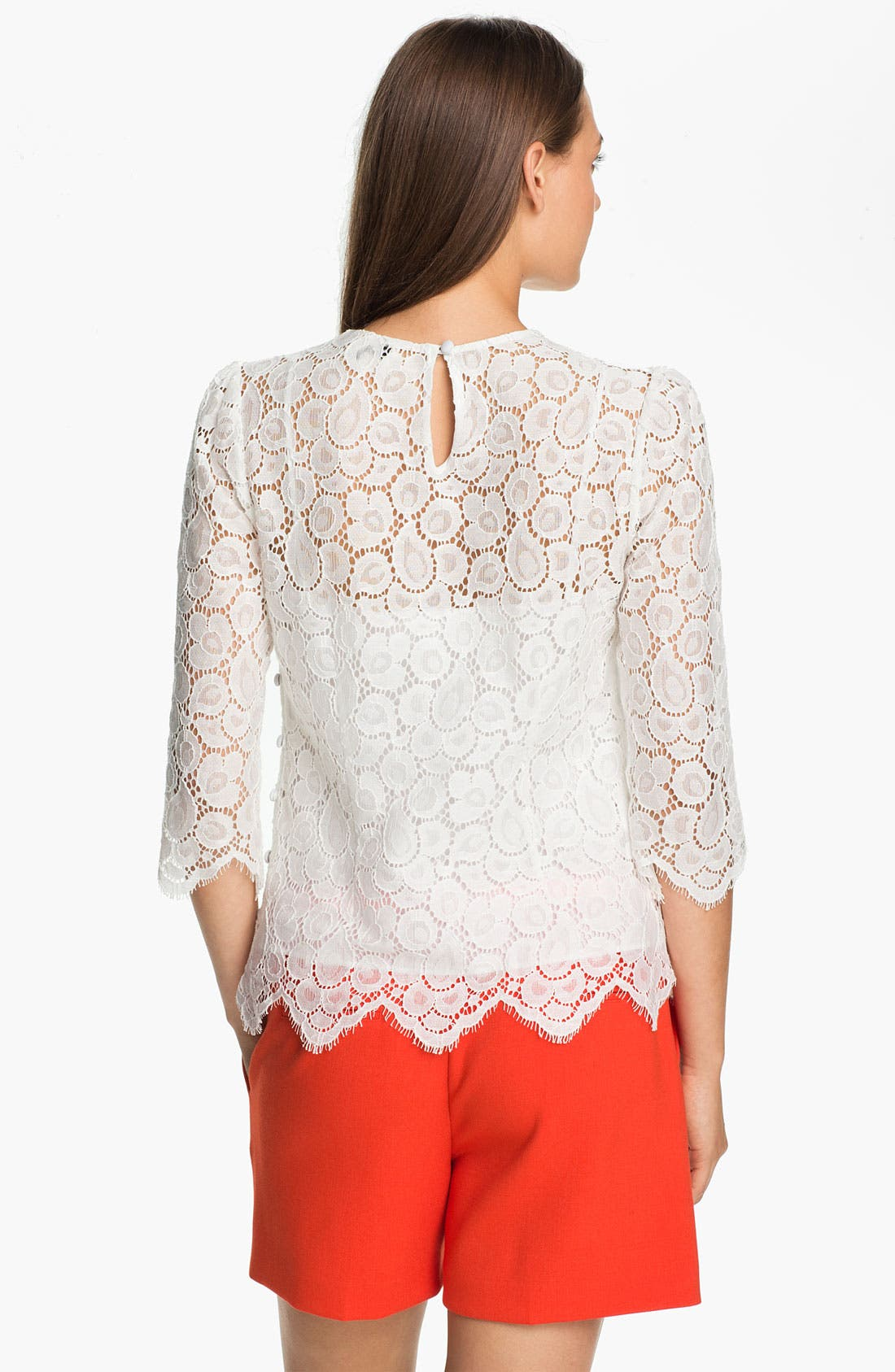 Alternate Image 2  - Milly 'Ivy' Lace Blouse