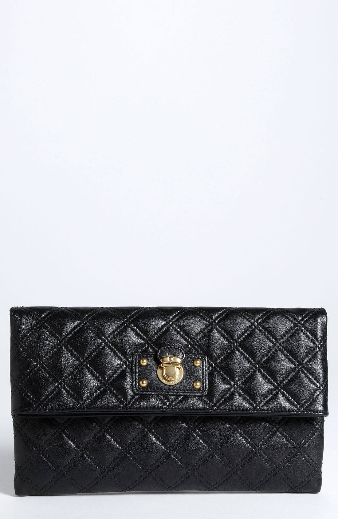 Alternate Image 1 Selected - MARC JACOBS 'Large Eugenie' Quilted Leather Clutch