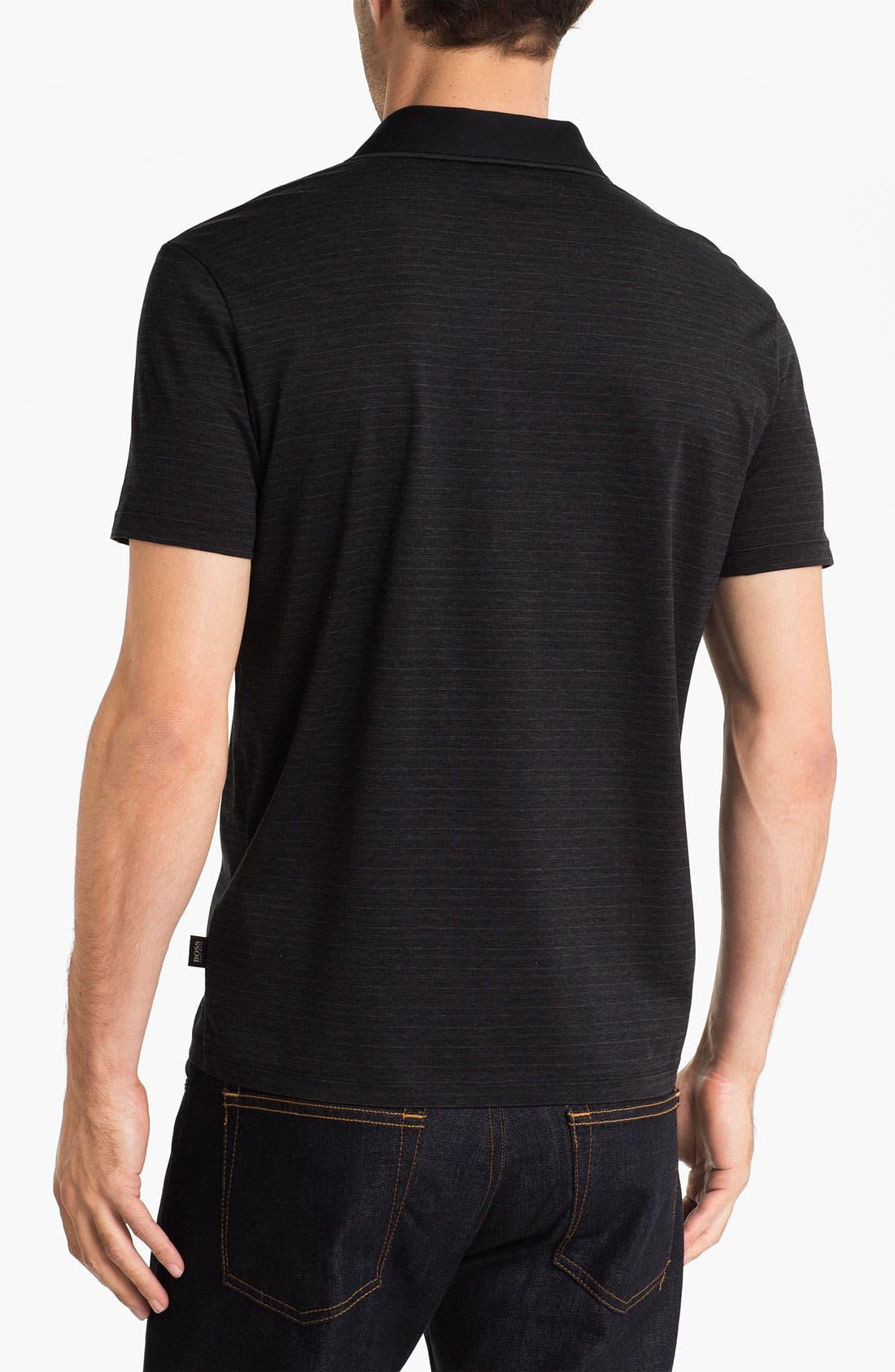 Alternate Image 2  - BOSS Black 'Fontana' Regular Fit Polo