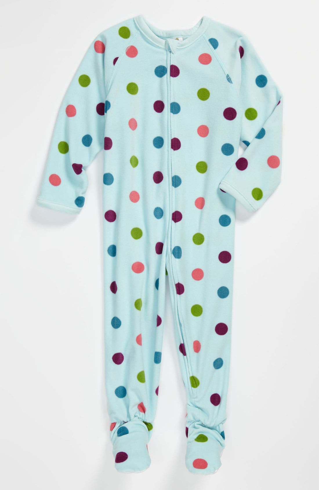 Alternate Image 1 Selected - Tucker + Tate Print Footie (Baby Girls)