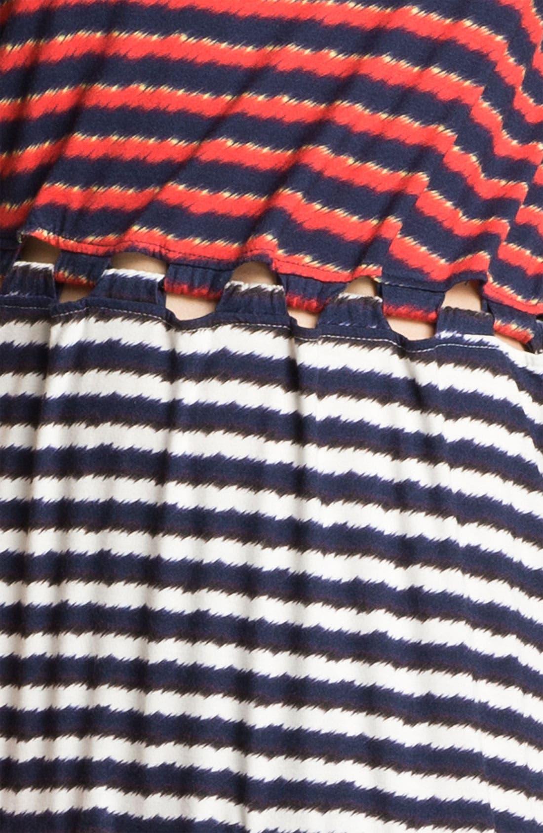 Alternate Image 3  - KENZO Stripe Print Dress