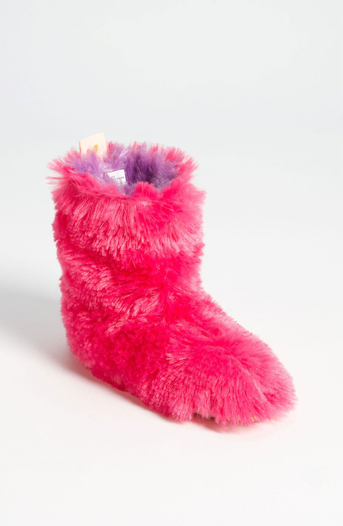 Alternate Image 1 Selected - Olivia Miller Fuzzy Bootie (Toddler & Little Kid)