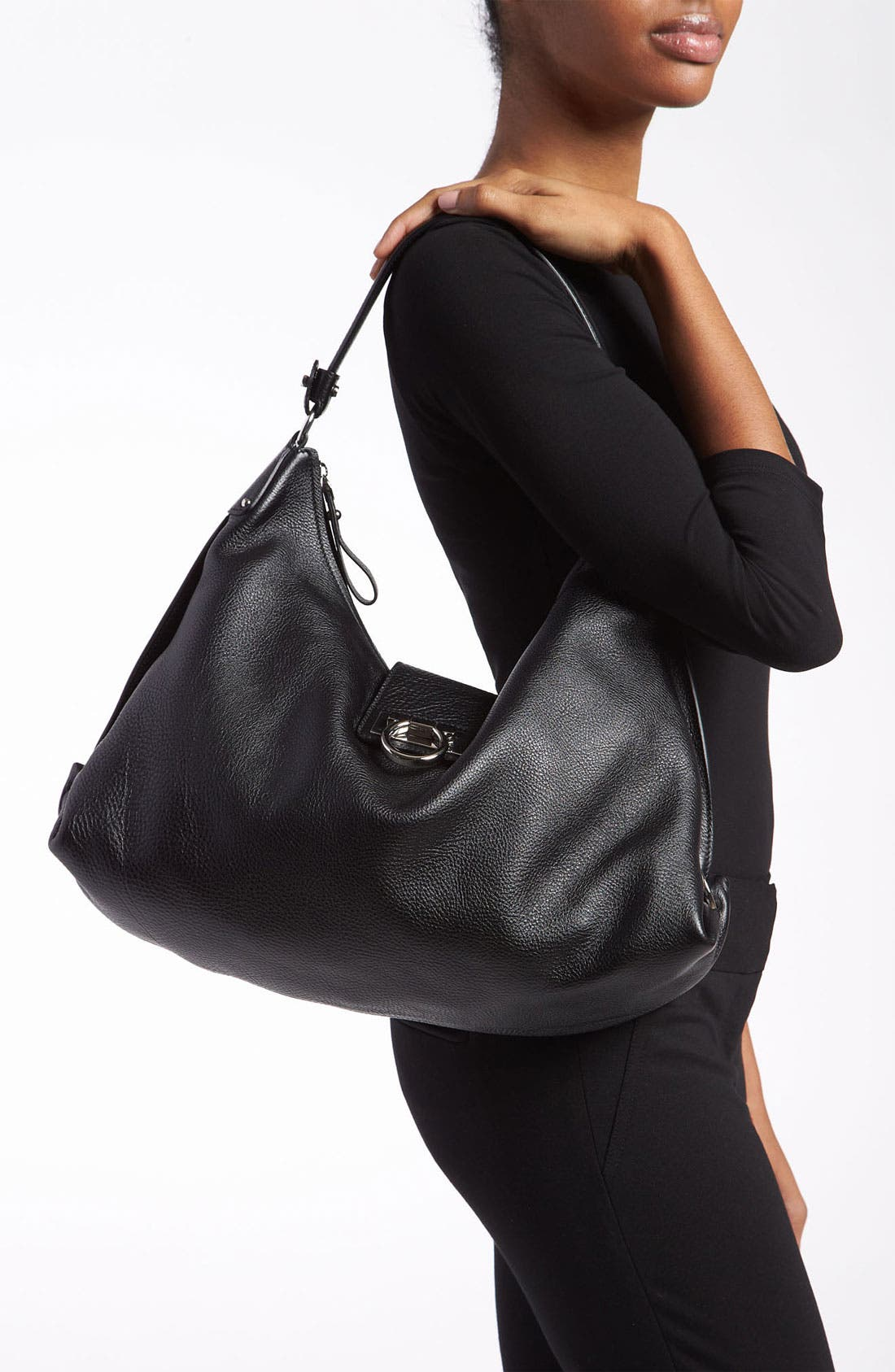 Alternate Image 2  - Salvatore Ferragamo 'New Fanisa' Leather Hobo