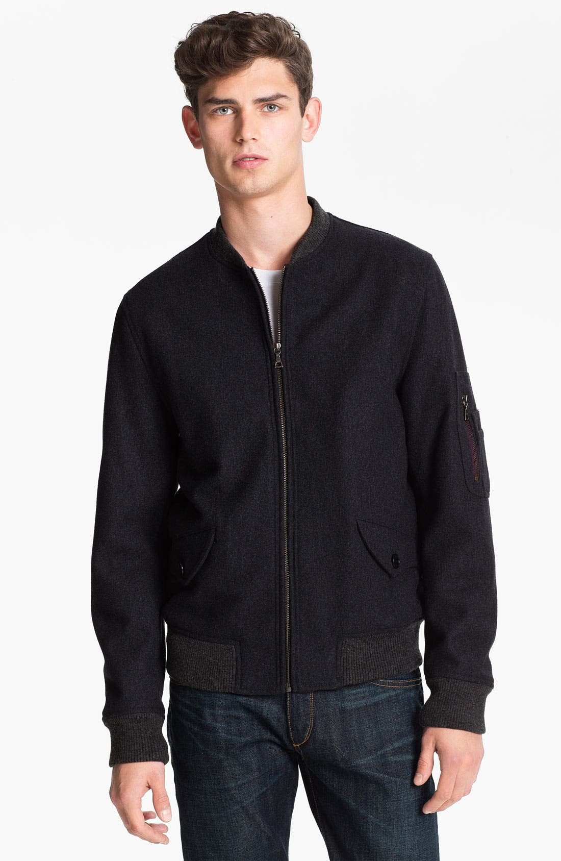 Alternate Image 1 Selected - PS Paul Smith Bomber Jacket