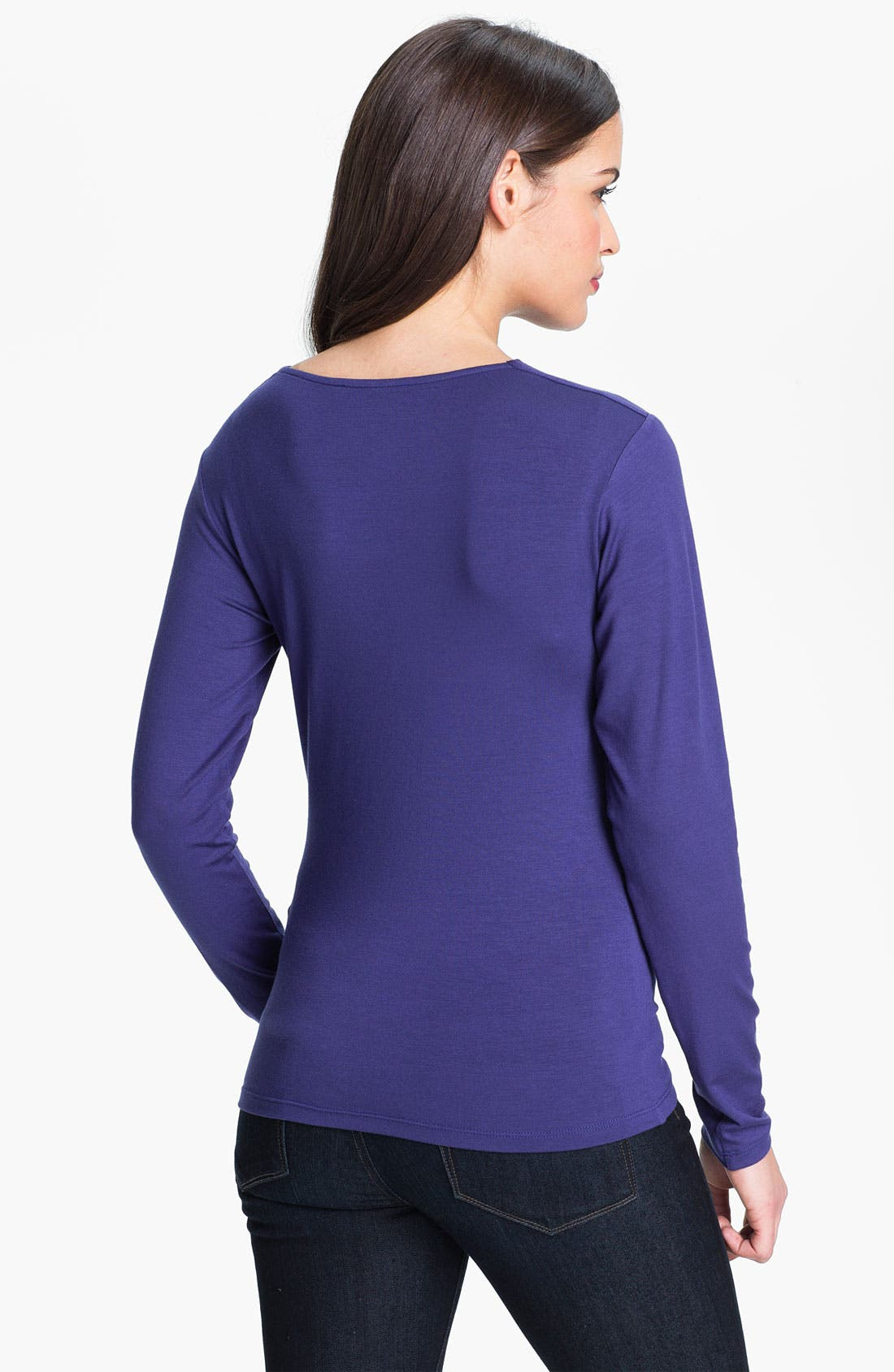 Alternate Image 2  - Purity Cowl Neck Long Sleeve Top