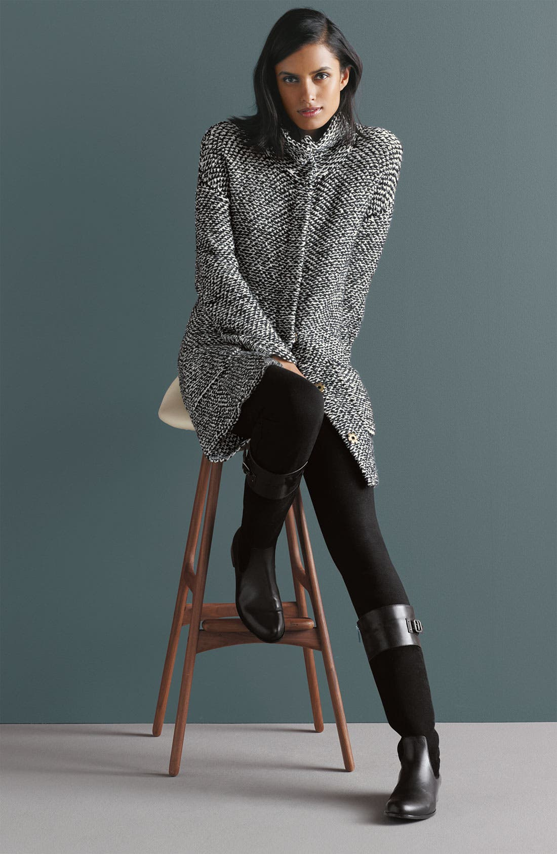 Alternate Image 3  - Eileen Fisher Jacket & Jeans