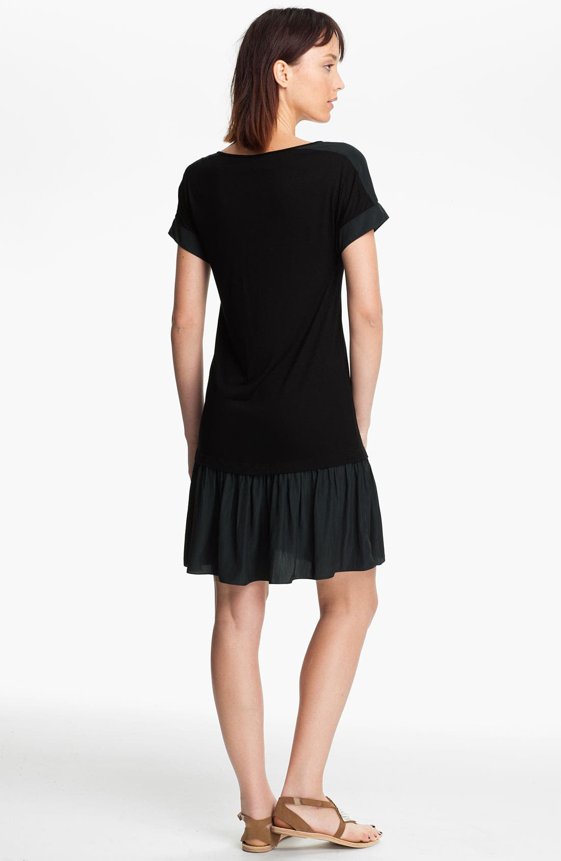 Alternate Image 2  - Thakoon Carbon Copy Layered Drop Waist Jersey Dress