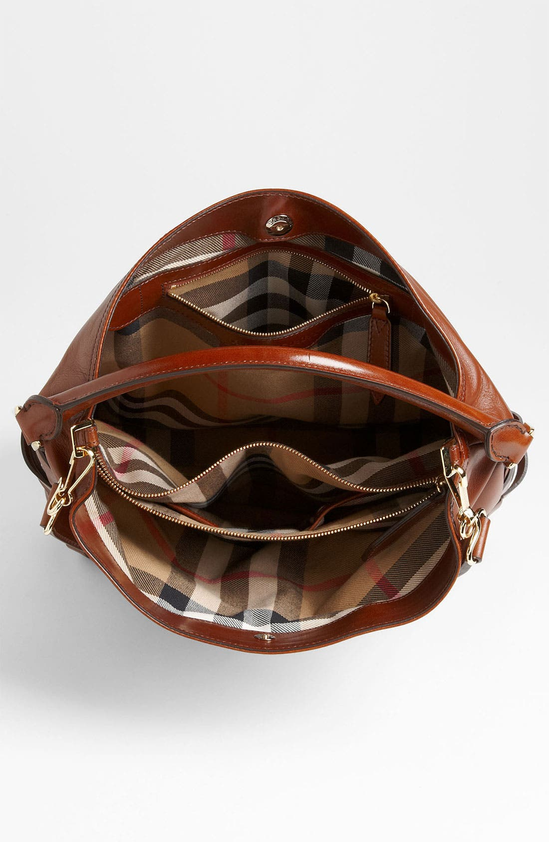 Alternate Image 3  - Burberry 'Bridle' Leather Hobo