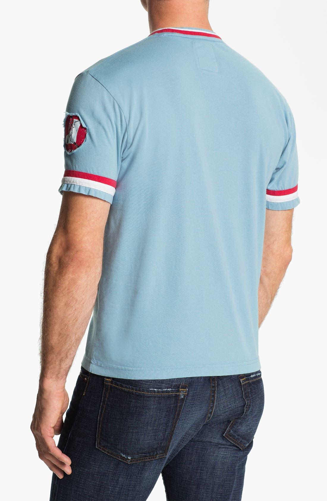 Alternate Image 2  - Red Jacket 'Chicago White Sox' Ringer Trim Fit T-Shirt (Men)