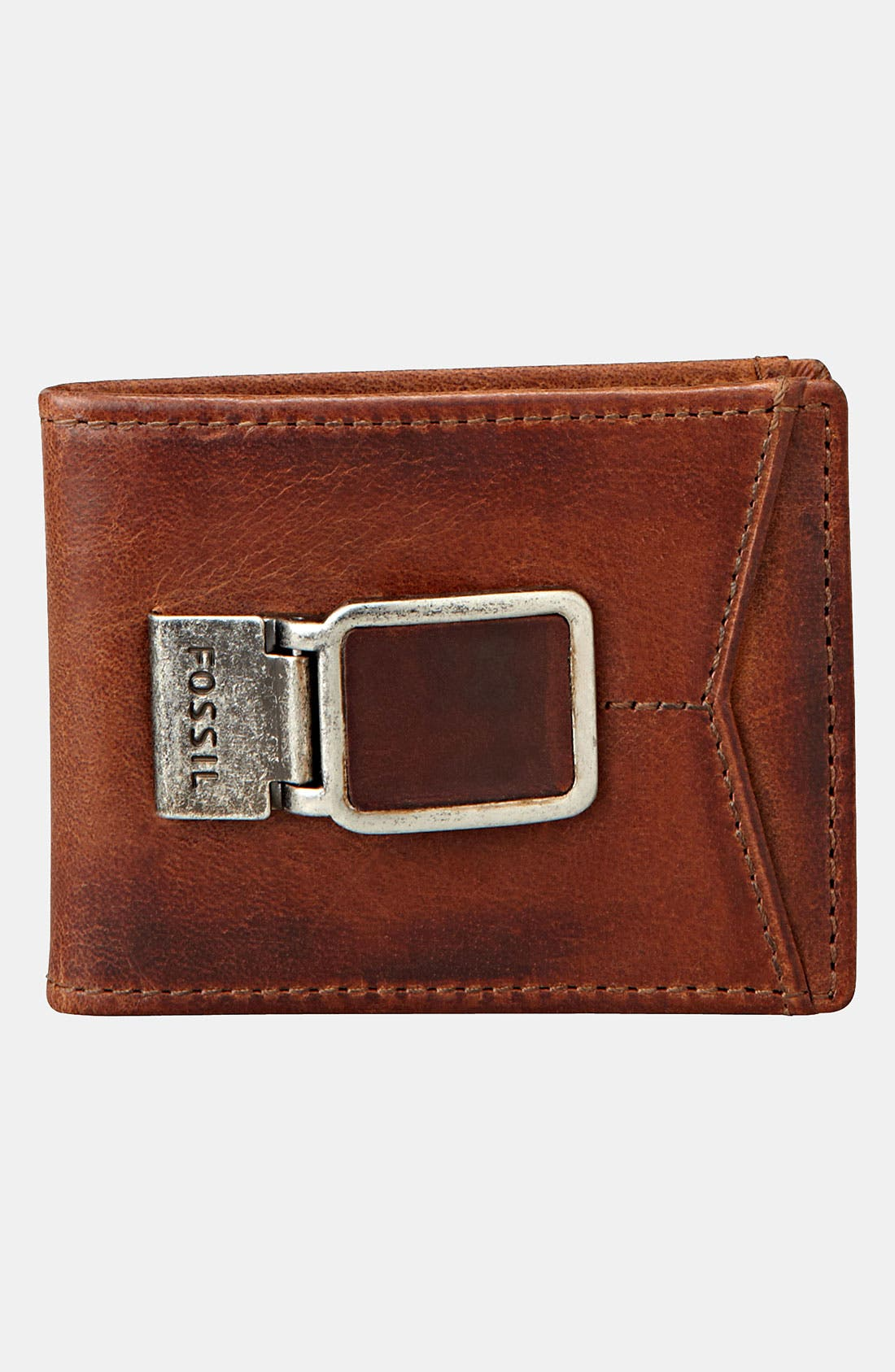 Alternate Image 4  - Fossil 'Carson' ID Bifold Wallet