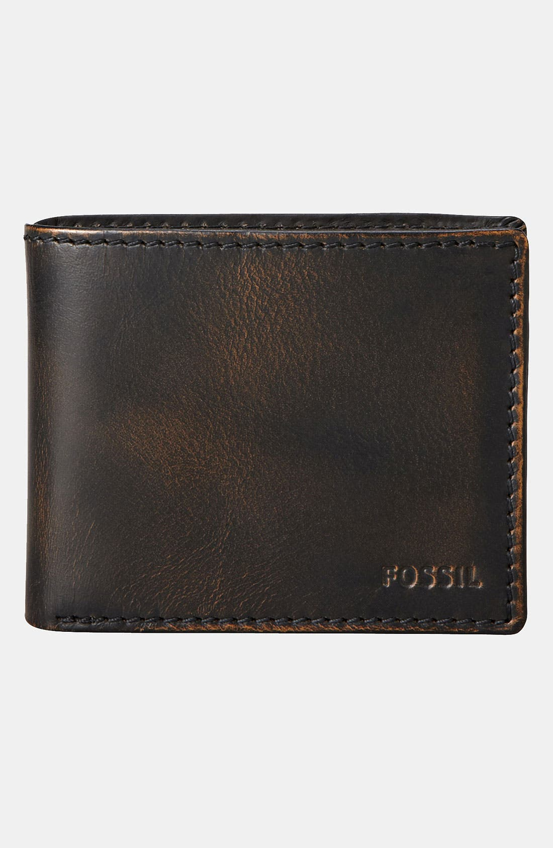 Alternate Image 1 Selected - Fossil 'Carson' Traveler Wallet