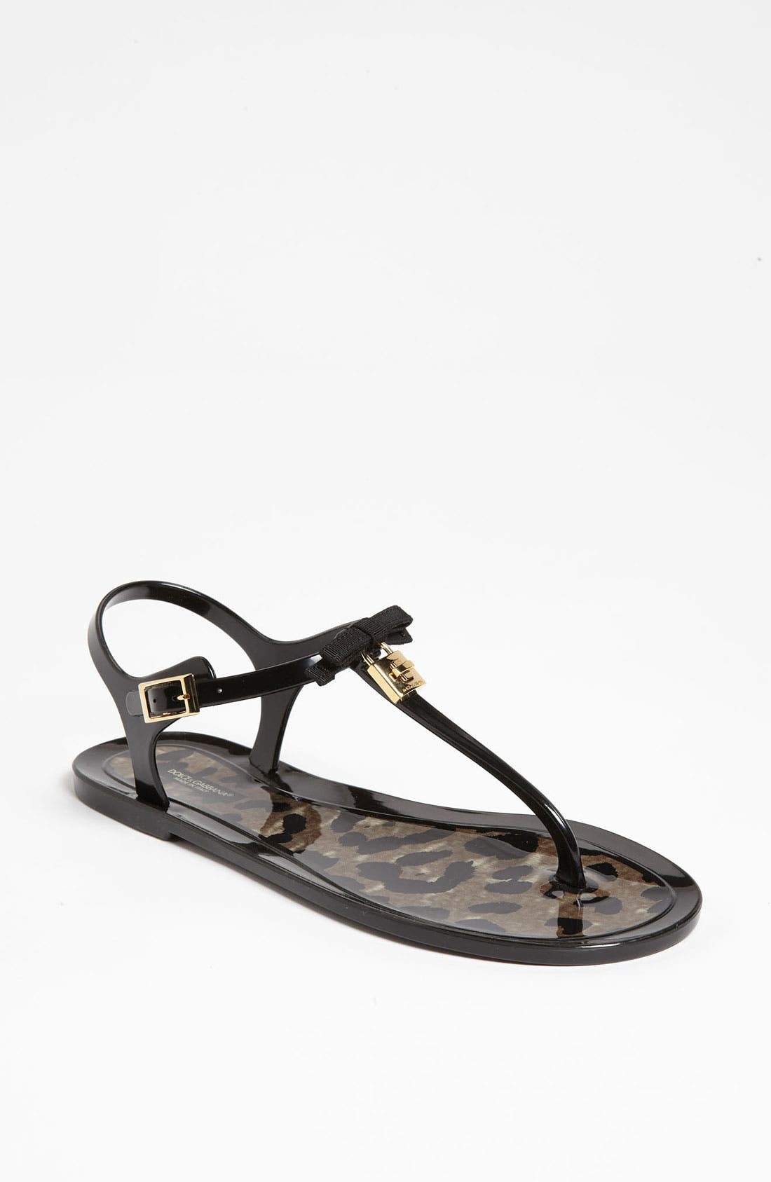 Alternate Image 1 Selected - Dolce&Gabbana Jelly Thong Sandal