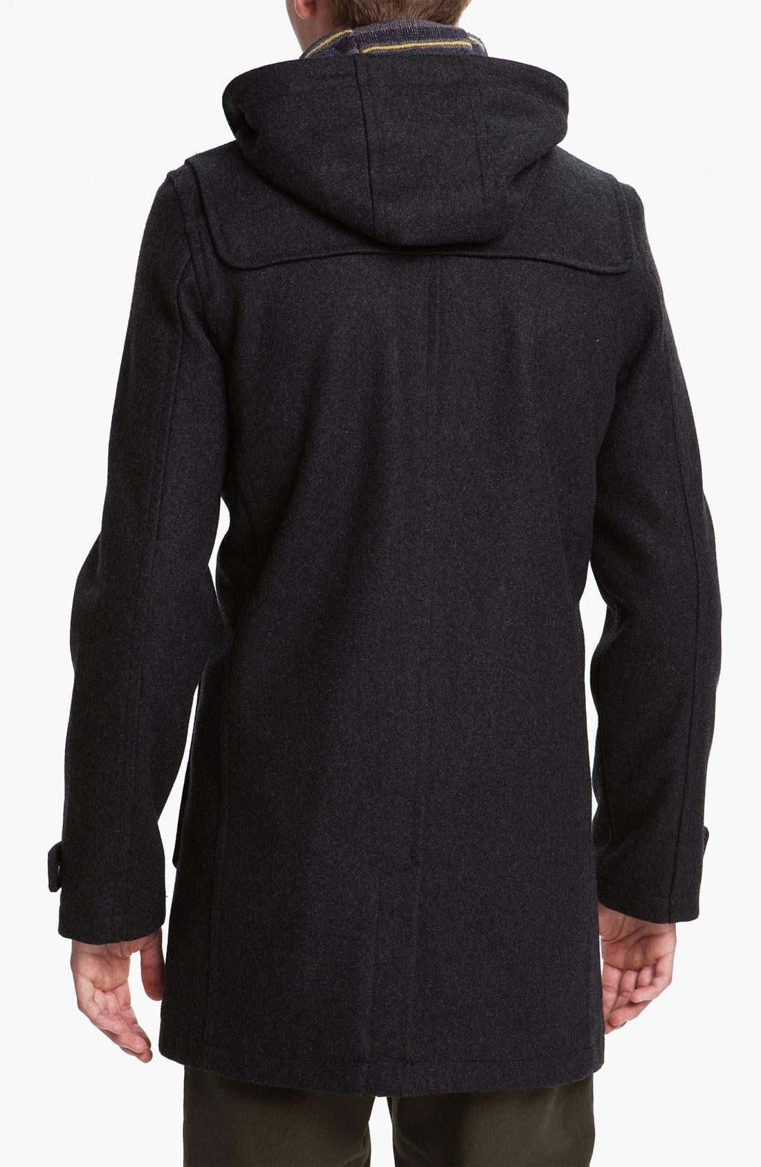 Alternate Image 2  - Topman Duffle Coat