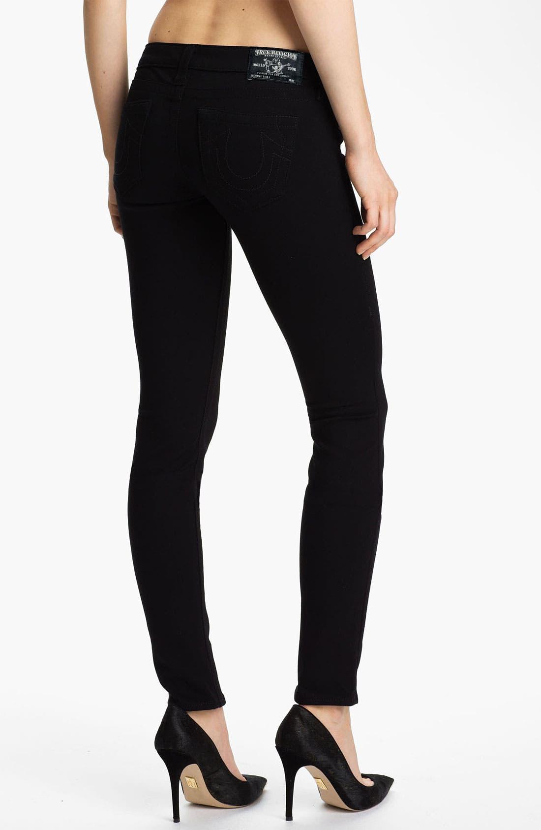 Alternate Image 2  - True Religion Brand Jeans 'Stella' Stretch Ponte Knit Pants