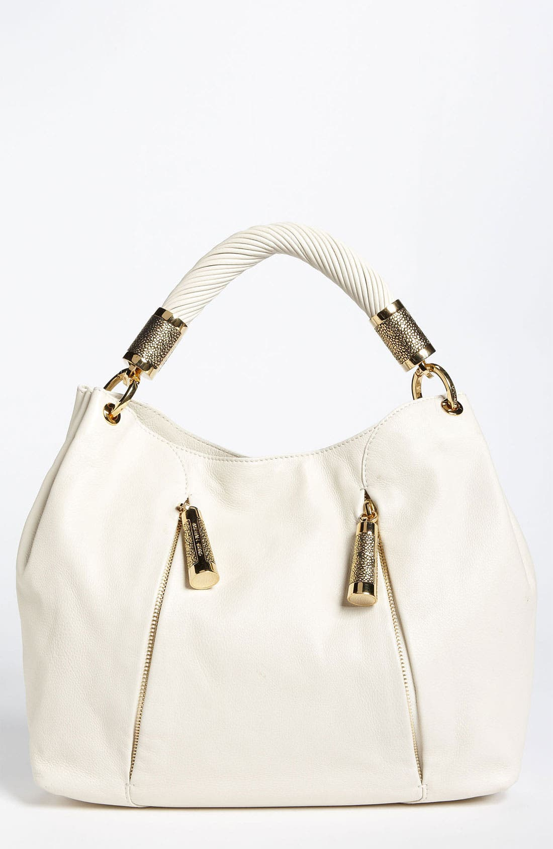 Alternate Image 1 Selected - Michael Kors 'Tonne' Leather Hobo