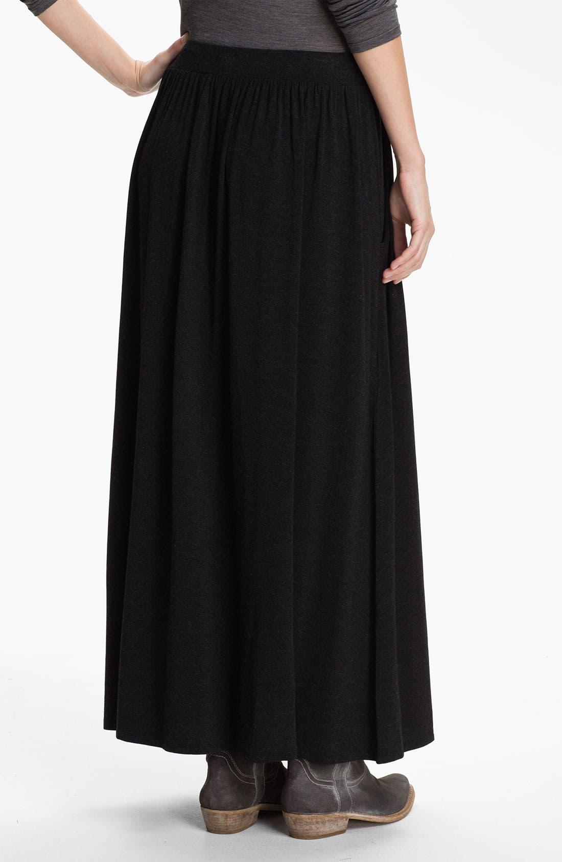 Alternate Image 2  - Eileen Fisher Drawstring Maxi Skirt (Online Exclusive)