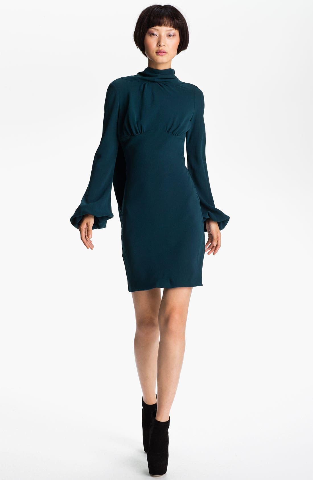 Main Image - Skaist-Taylor 'Laura' Drape Back Crepe Dress