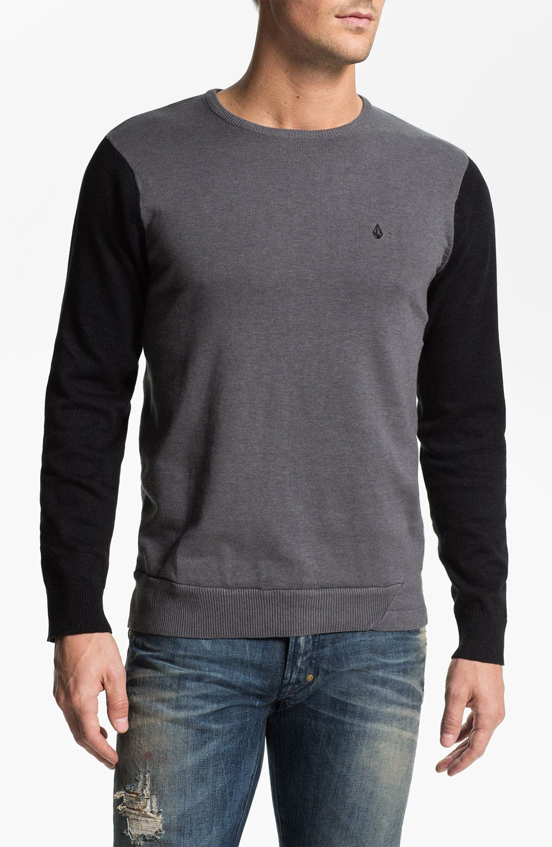 Main Image - Volcom 'Other Circle' Crewneck Sweater