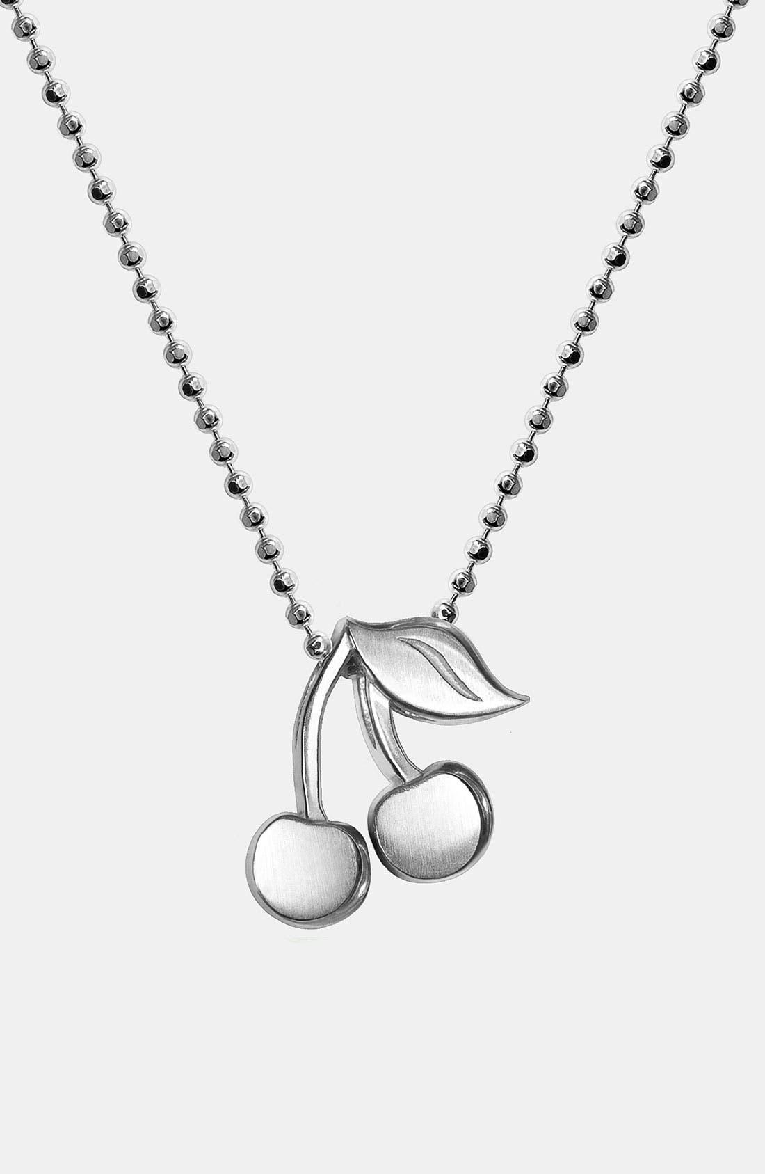 Alternate Image 1 Selected - Alex Woo 'Little Vegas' Cherries Pendant Necklace