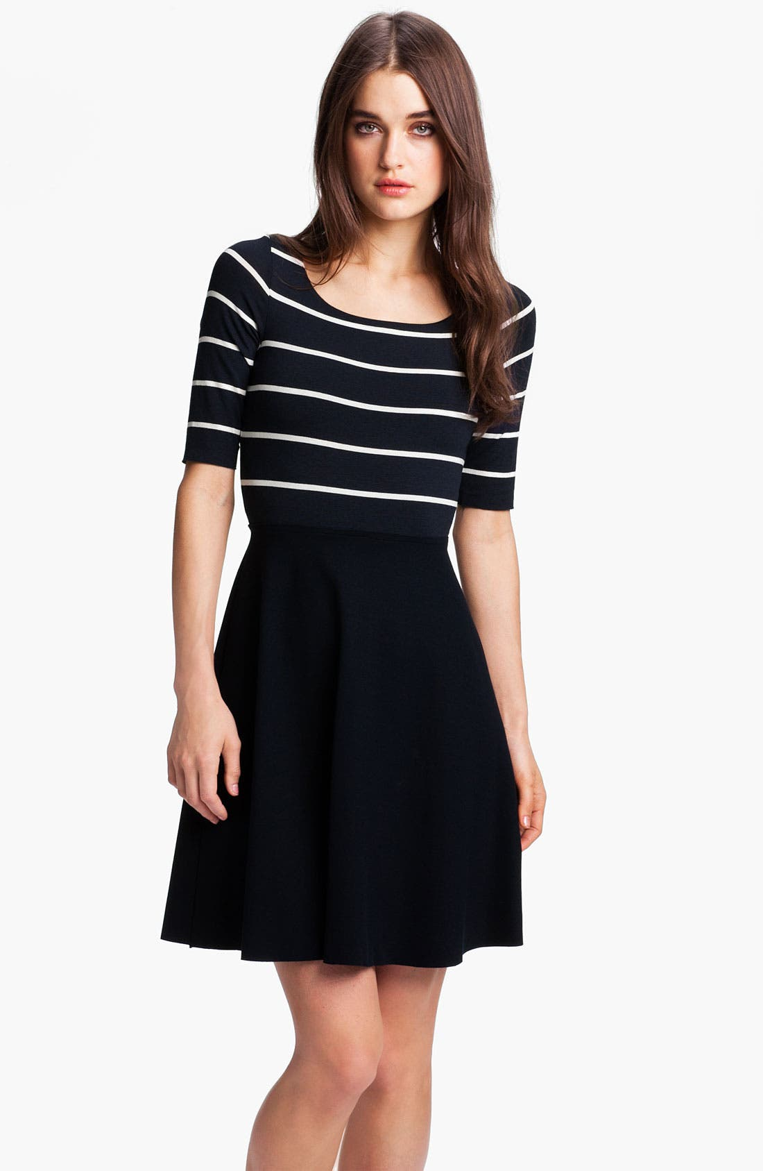 Alternate Image 1 Selected - B44 Dressed by Bailey 44 'Fencing' Stripe Bodice Fit & Flare Dress