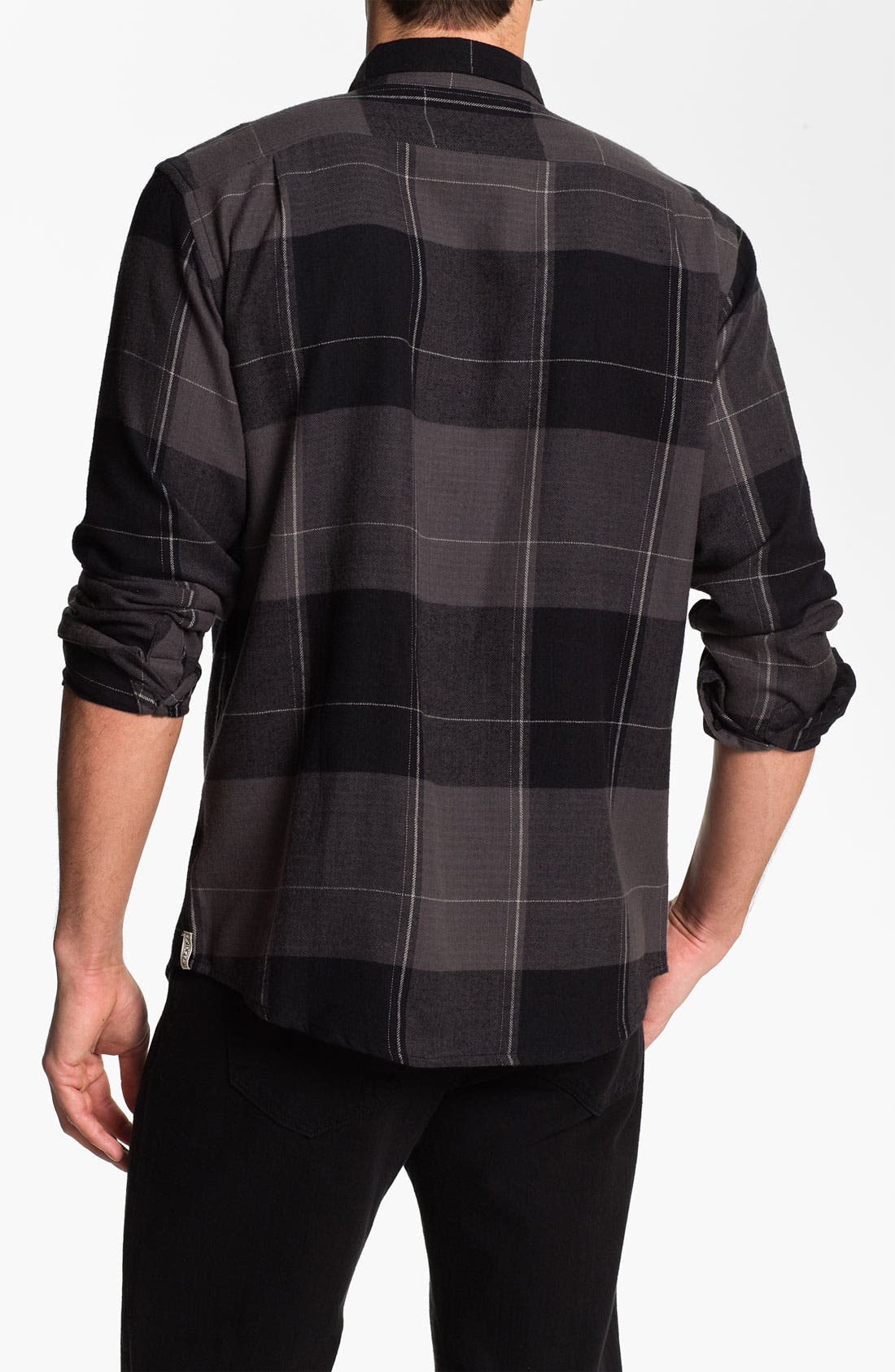 Alternate Image 2  - Ezekiel Herringbone Flannel Shirt