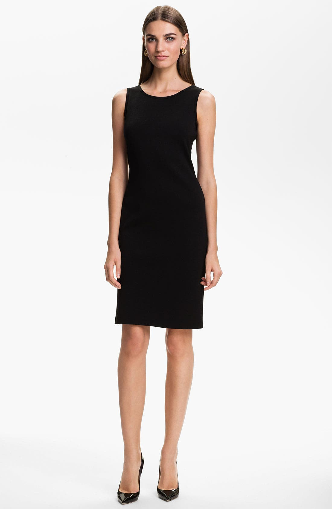 Alternate Image 1 Selected - St. John Collection Milano Knit Sheath Dress