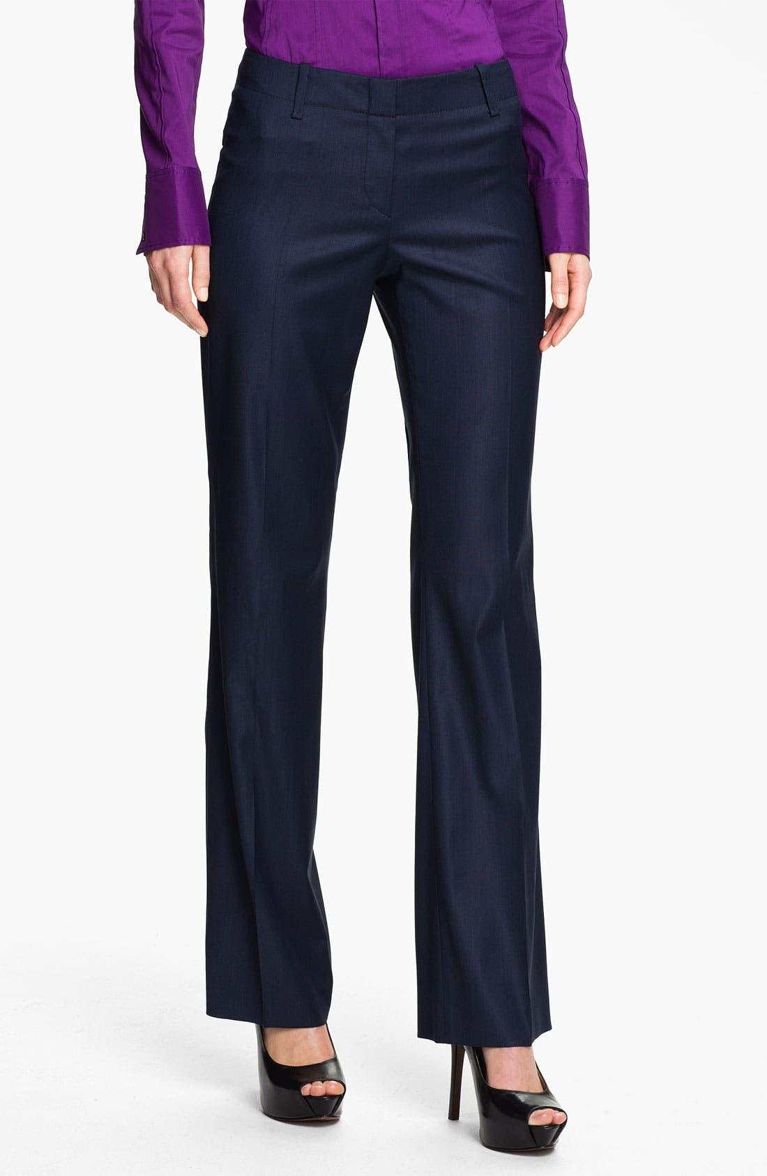 Alternate Image 1 Selected - BOSS Black 'Tulia' Trousers
