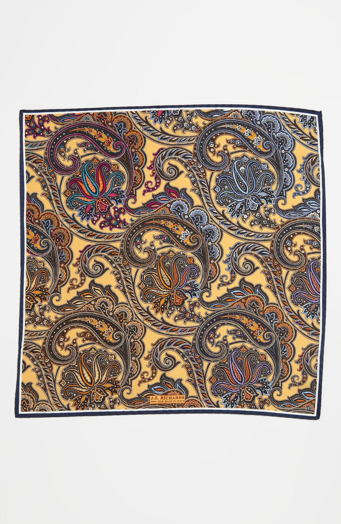 Alternate Image 2  - J.Z. Richards Silk Pocket Square