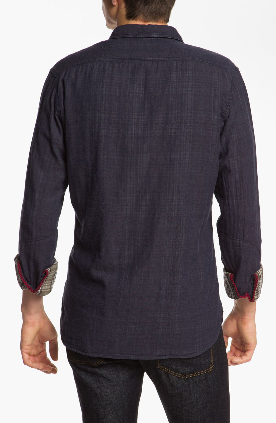 Alternate Image 2  - Woolrich John Rich Double Weave Shirt