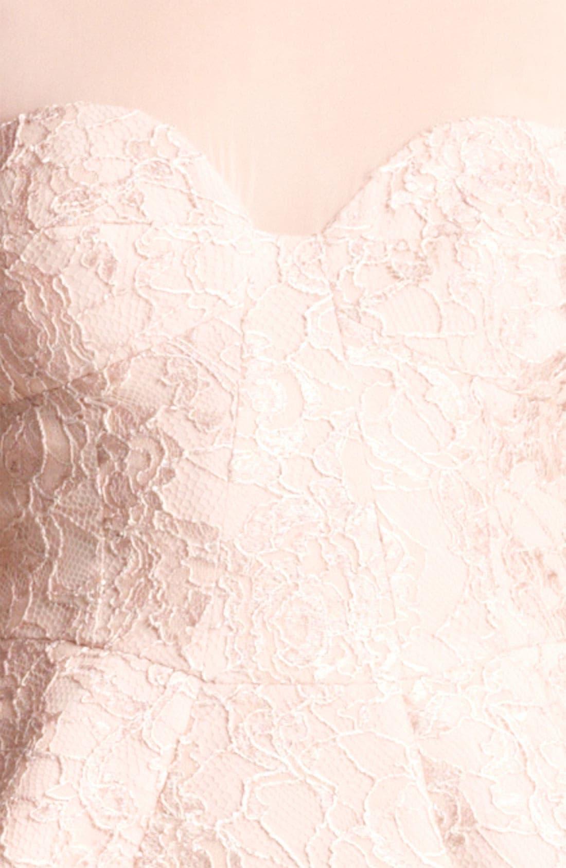 Alternate Image 3  - Emilio Pucci Peplum Lace Dress