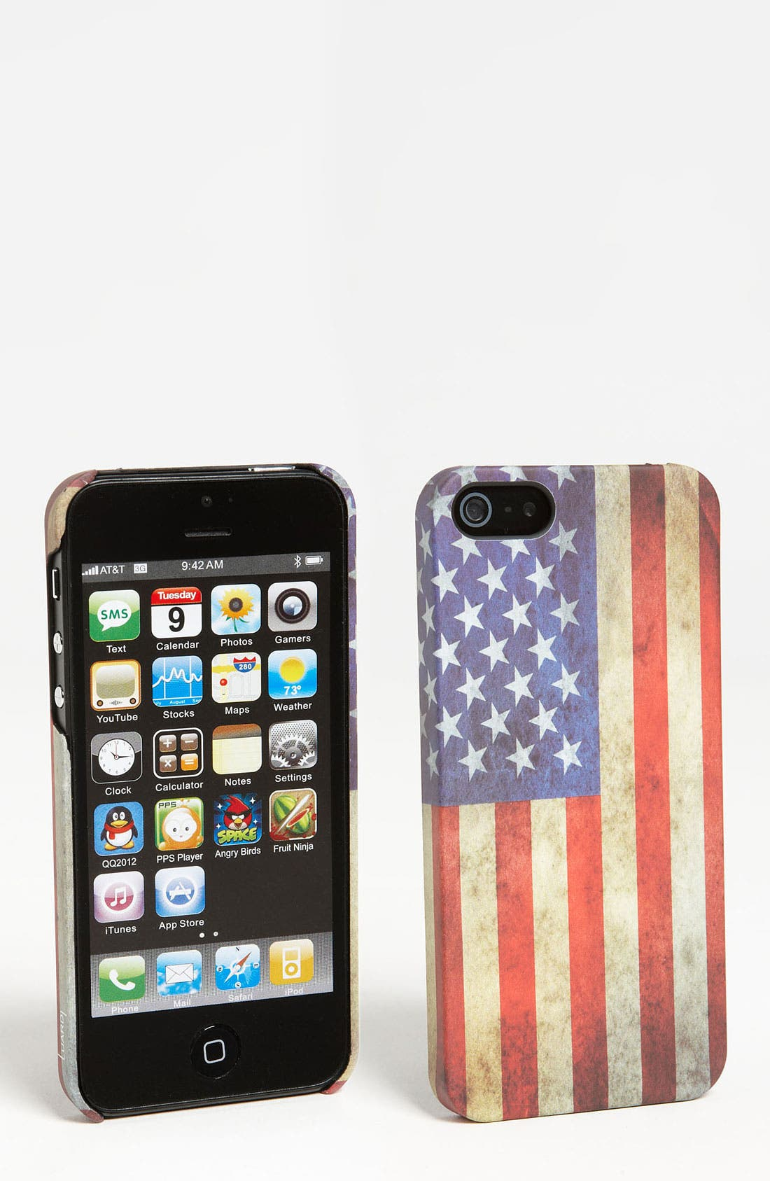 Main Image - Luardi 'USA' Snap-On iPhone 5 Case