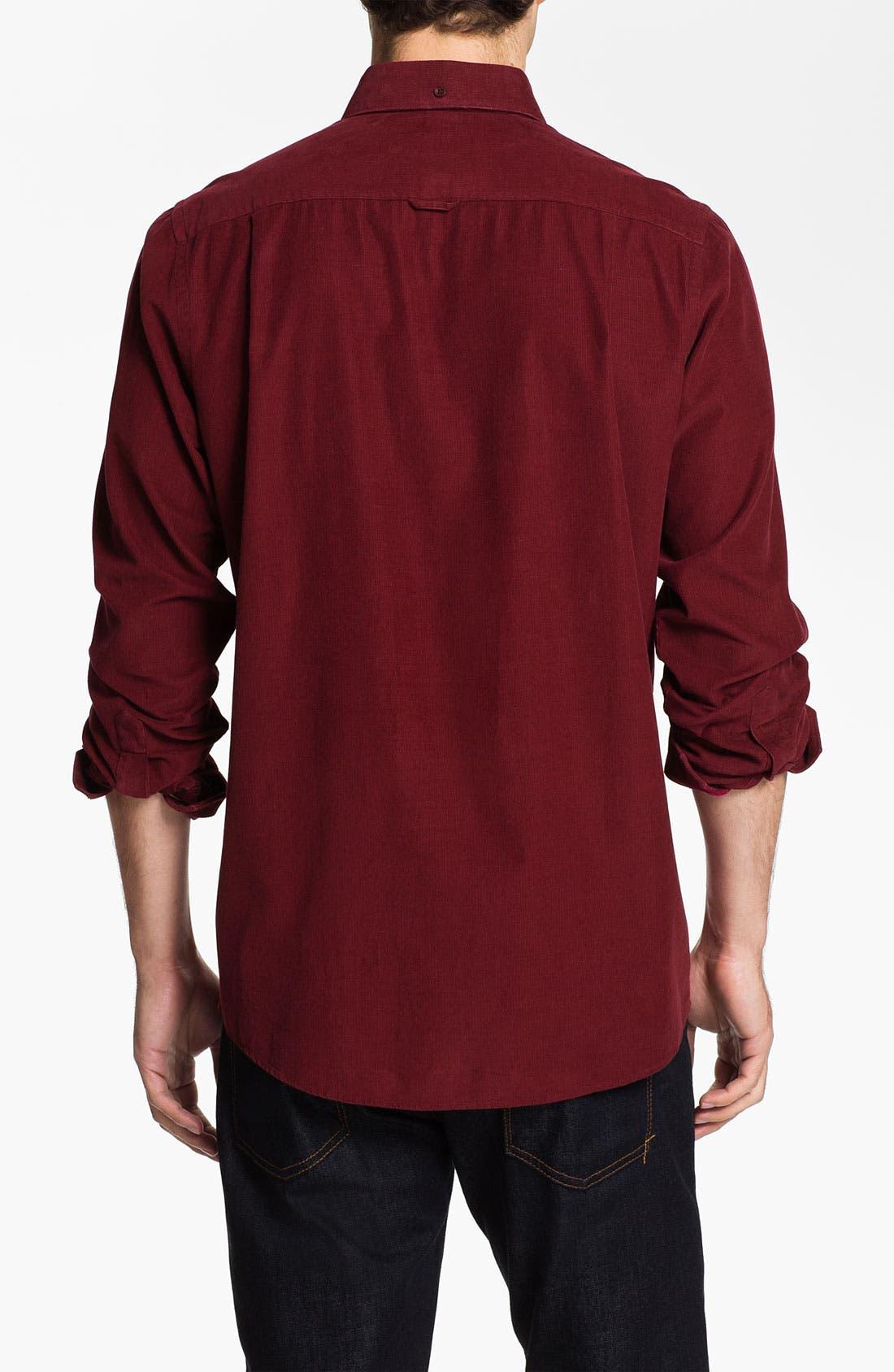 Alternate Image 2  - Nordstrom Regular Fit Corduroy Sport Shirt