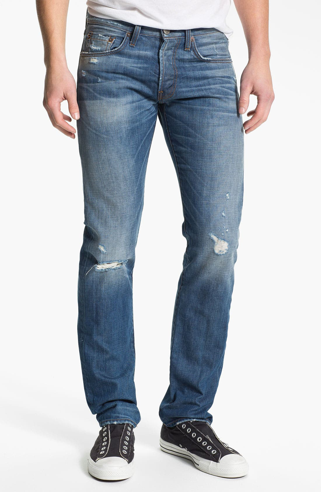 Alternate Image 1 Selected - J Brand 'Tyler' Slim Straight Leg Jeans (Reckless)