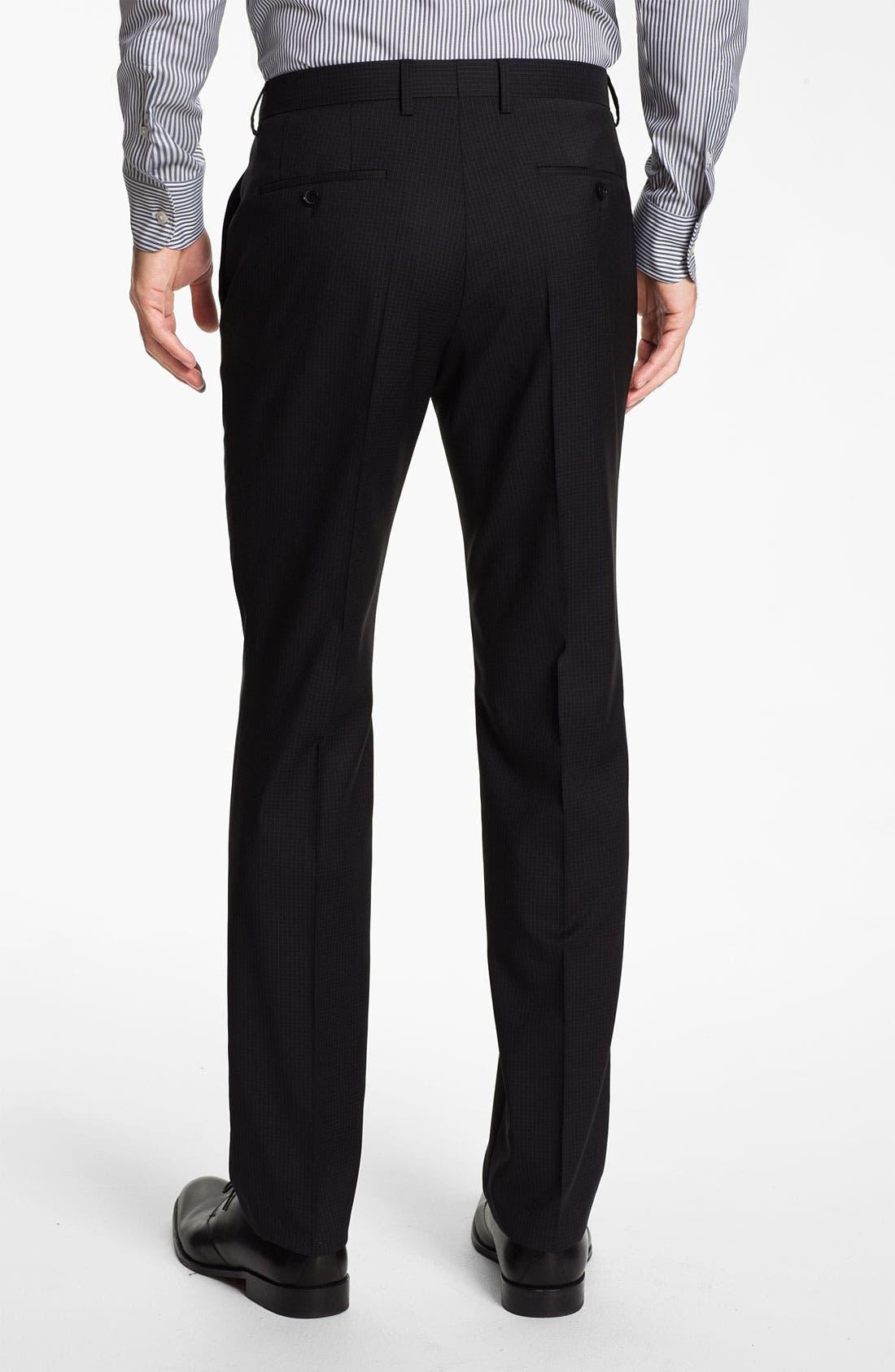 Alternate Image 5  - BOSS Black 'Huge/Genius' Trim Fit Suit
